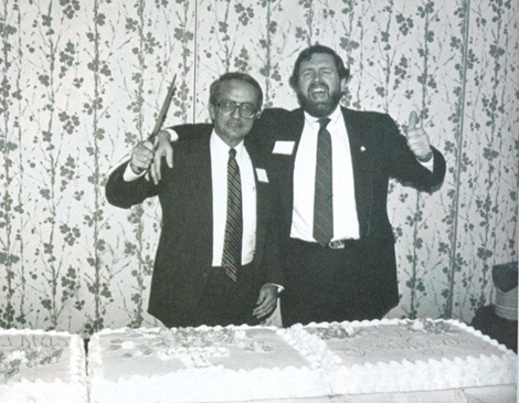 Lute Harmon Sr. and Mike Roberts 25th Anniversary