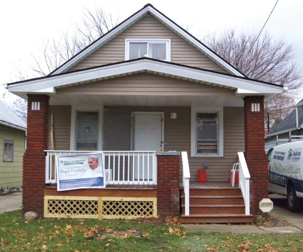 nonprofit news: greater cleveland habitat for humanity build homes