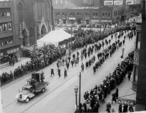 1935 Parade, Cleveland Press collection