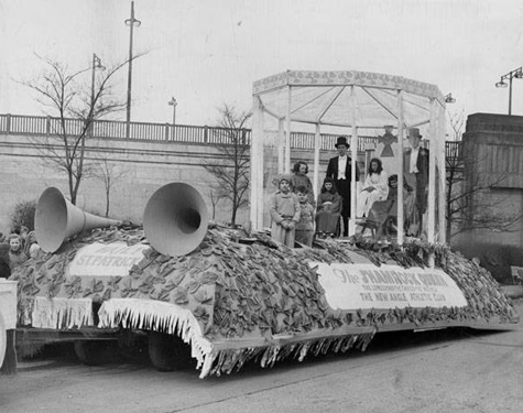 1948 Parade Float, Cleveland Press Collection