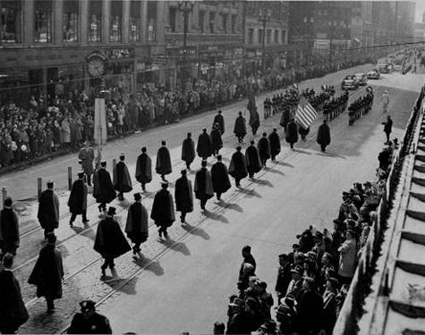 1949 Parade, Cleveland Press Collection