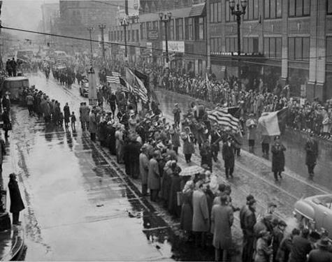 1950 Parade, Cleveland Press Collection