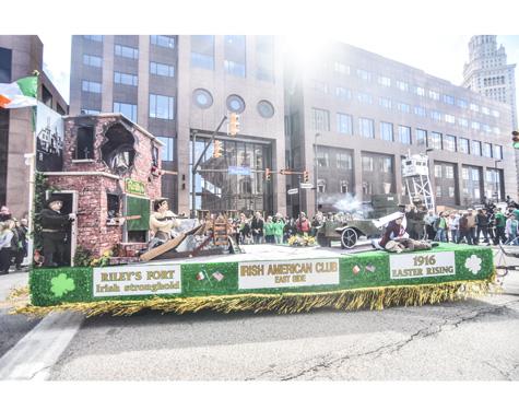 2016 St. Patrick's Day Parade Float, Erik Drost