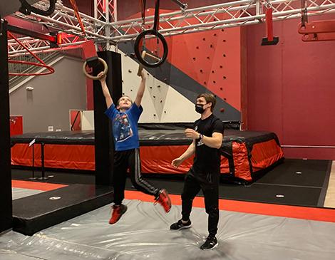 Adrenaline Monkey's American Ninja Warrior Training Gym
