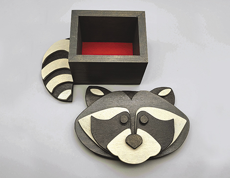 Beastie Boxes' Animal-Shaped Wooden Boxes