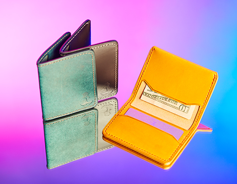 Cedar Grove Leather 3 Pocket Wallet
