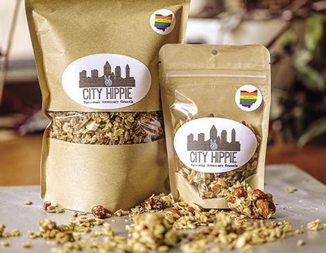 City Hippie's Savory Granola