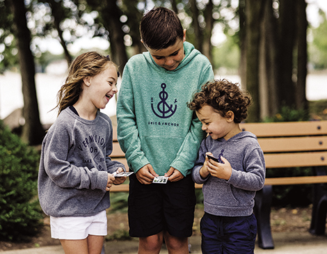 Erie And Anchor's Lake-Inspired Clothing