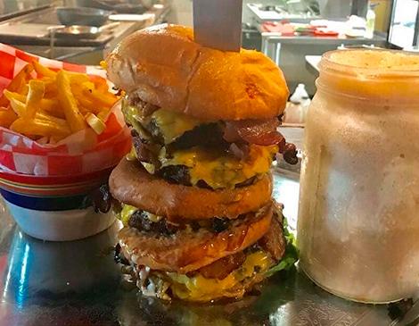 Farmer Butcher Chef Bistro's Austinburger Challenge