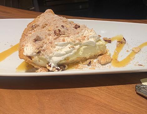 Firestone's Crunchy Cream Pie