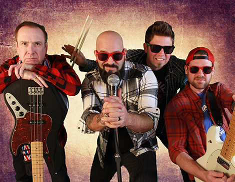 Flannel Planet, 90s cover band