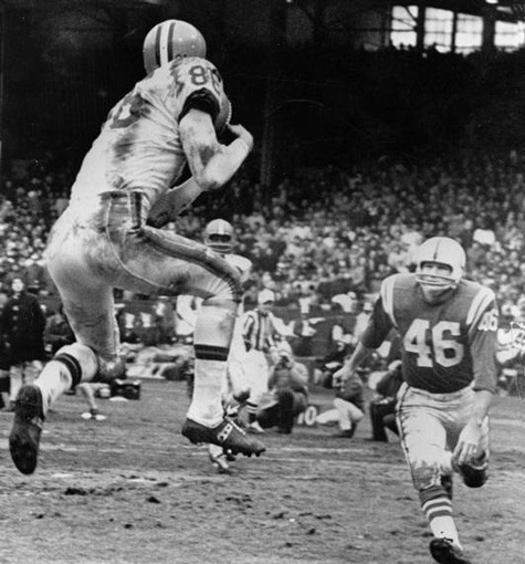 Gary Collins first of three touchdowns, Cleveland Browns beat Baltimore Colts in 1964 NFL Championship Game