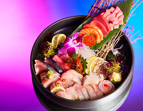 Goma, Sashimi Tasting