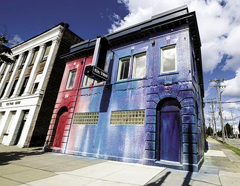 Graffiti Heart's Rainbow Mural