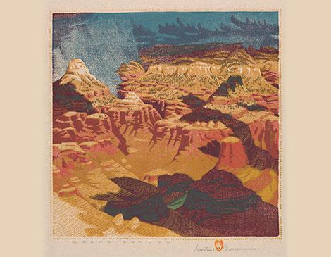 Gustave Baumann: Colorful Cuts
