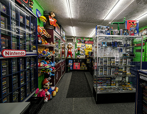 James Games & More's Video Game Store