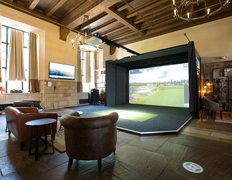 ProXimity Golf Lounge's Golf Swing Simulator