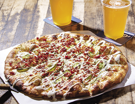 Smash Pizza's Dilly Dilly