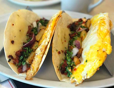 Southside Diner's Breakfast Tacos