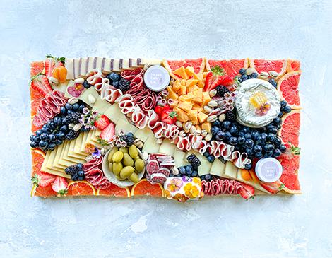 Sweet Brie Co.'s Custom Charcuterie Boards