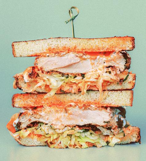The Plum Chicken Sandwich, Good Company