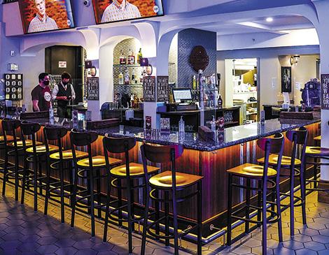 The Workz's bar