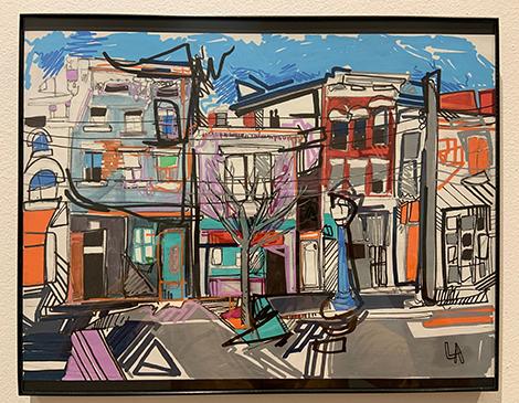 Threshold Exhibit: Drawn To Paint