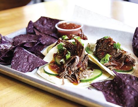 The South Side's Short Rib Taco