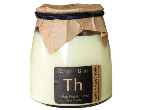 Hart + Hawthorne Vanilla Lime Thallos Candle