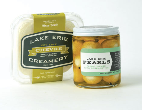 Lake Erie Creamery Key Lime Chevre