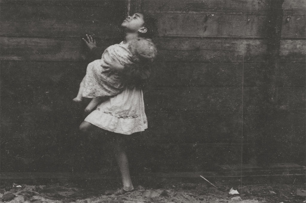 Jasper Wood Girl With Doll