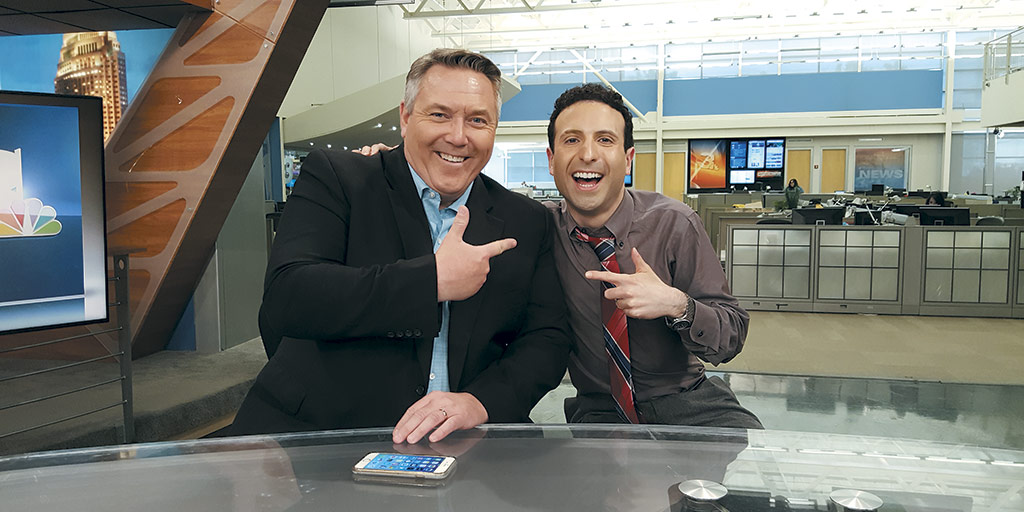 John Anderson and Matt Granite at WKYC