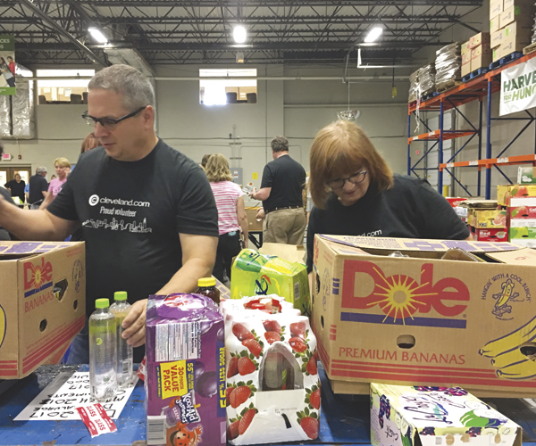 Date Night: Spread the Love at Greater Cleveland Food Bank