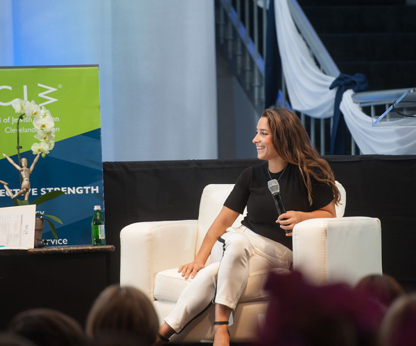 Olympic Gymnast Aly Raisman Offers Advice to Teens and Parents