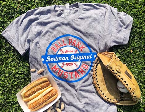 CLE Clothing Co Bertman Original Ballpark Mustard Tee