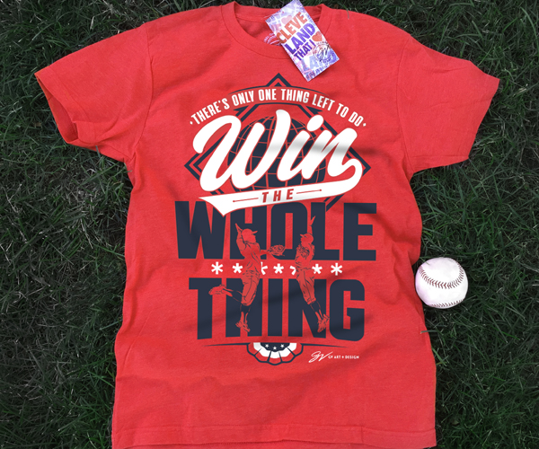 Score With Our Favorite Cleveland Indians Playoff Gear