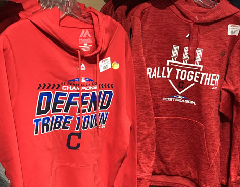 MLB Majestic Defend Tribe Town