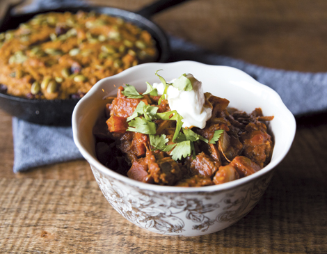 Pumpkin and Oxtail Chili