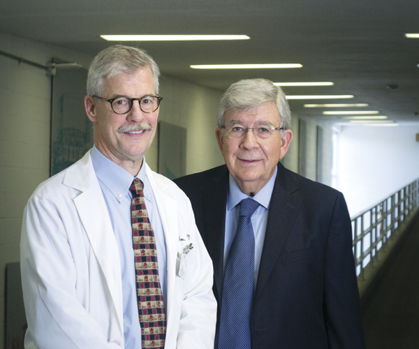 Dr. Ted Parran and  Dr. Chris Adelman