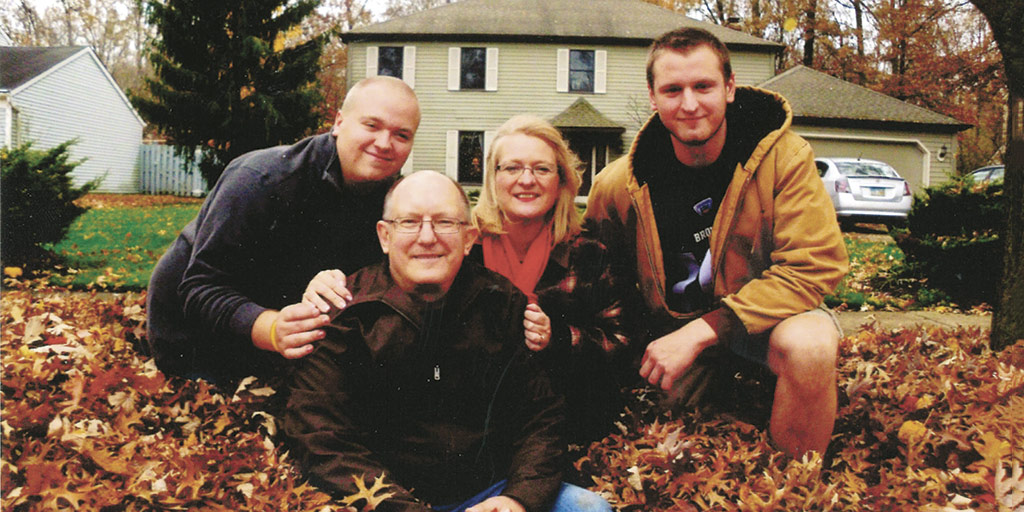 Jaworski Family just months before the attack