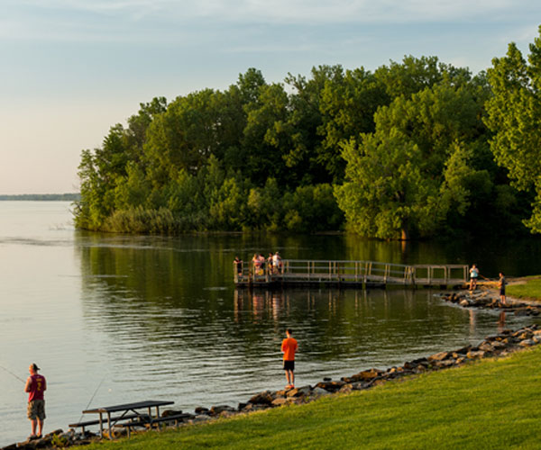 Great Lakes and Rivers: Mosquito Creek Lake