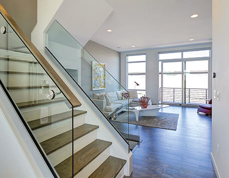 One Midtown Townhomes interior