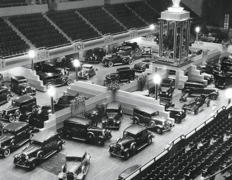 Cleveland Auto Show 1932