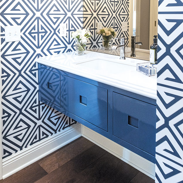Modern Style Powder Room