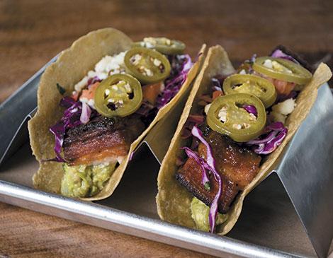 PB&J Tacos