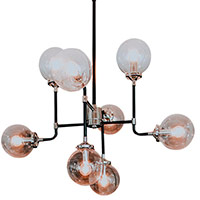 Spherical Glass Chandelier