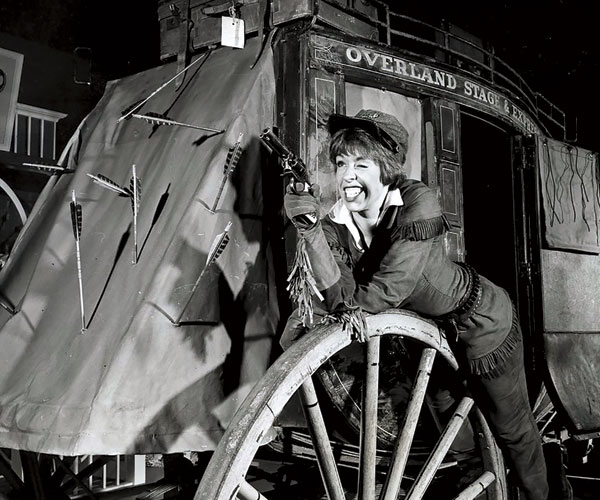 Carol Burnett as Calamity Jane in 1963