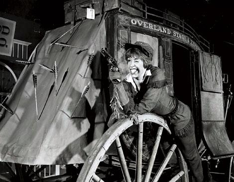 Carol Burnett as Calamity Jane in 1963