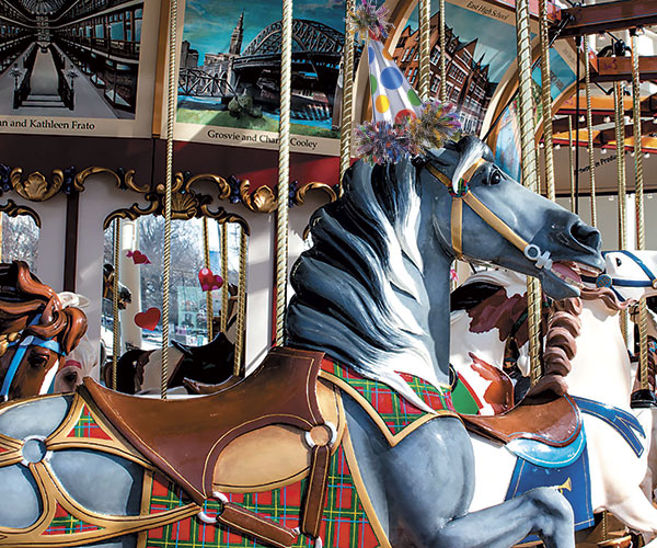 Take A Ride On The 108-year-old Euclid Beach Park Carousel