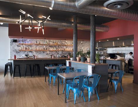 Xinji Noddle Bar Interior